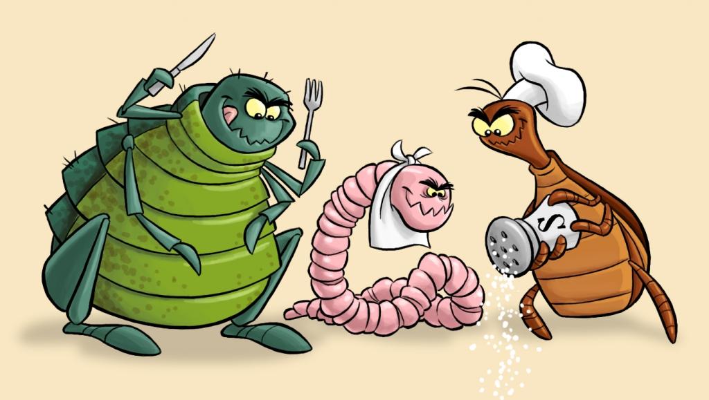 "Parasites are ""spring-ing"" up!"