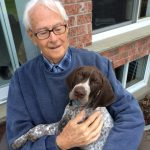 Peter Oliver and GSH pup 2_2015